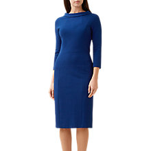 Buy Hobbs Cordelia Dress, Sapphire Online at johnlewis.com