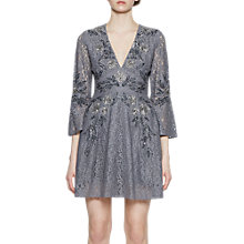Buy French Connection Esme V-neck Dress Online at johnlewis.com