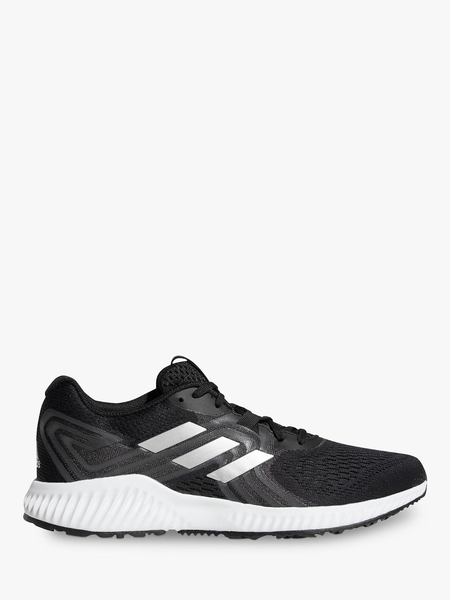 Buy adidas Aerobounce 2 Men's Running Shoes, Core Black/Silver, 7 Online at johnlewis.com