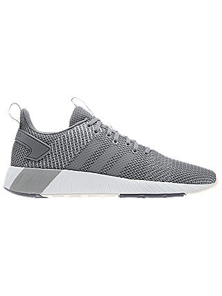Buy adidas Questar BYD Men's Running Shoes, Grey/White, 7 Online at johnlewis.com