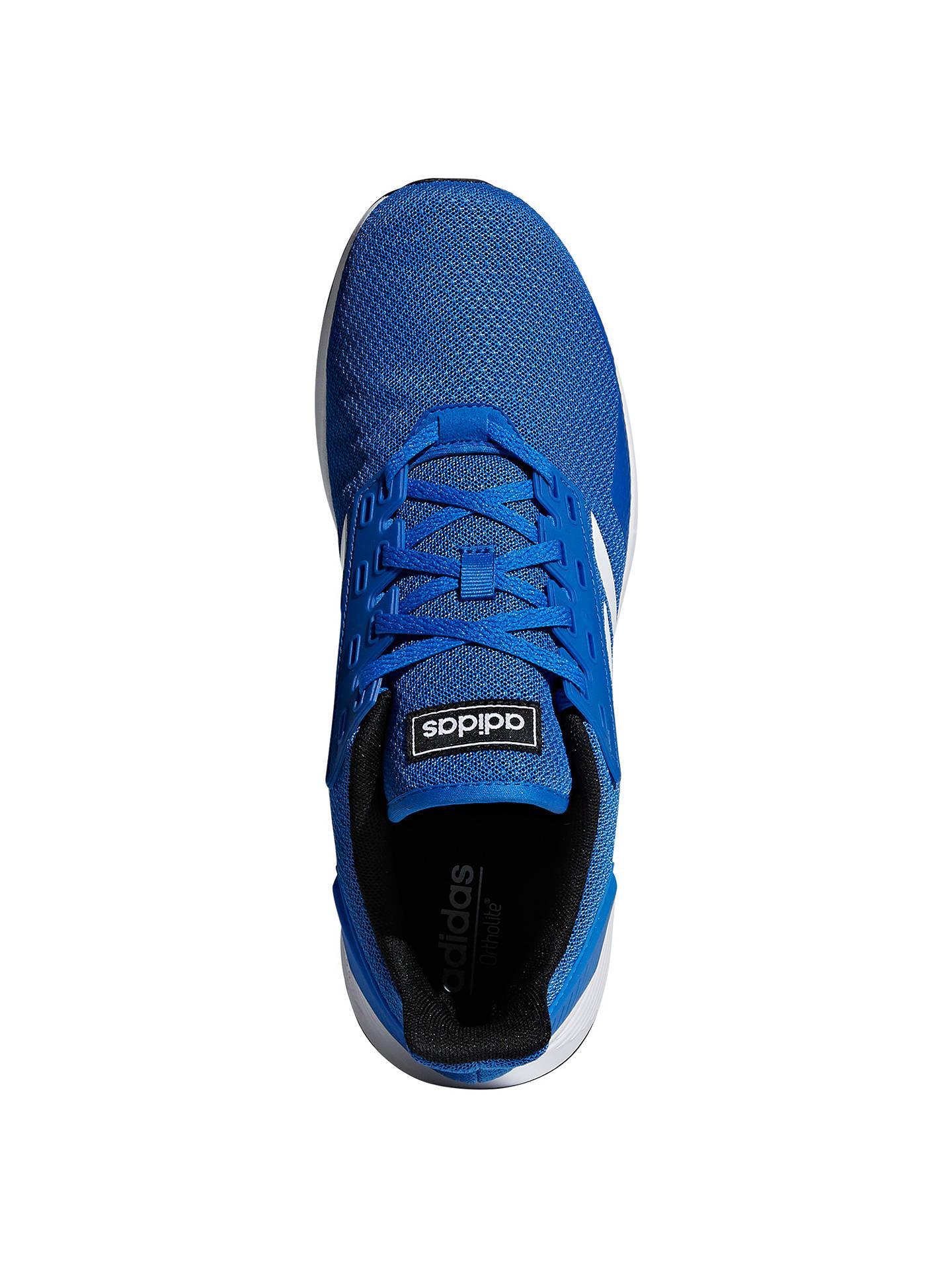 free shipping 8faf9 514a7 ... Buy adidas Duramo 9 Men s Running Shoes, Blue White, 8 Online at  johnlewis ...