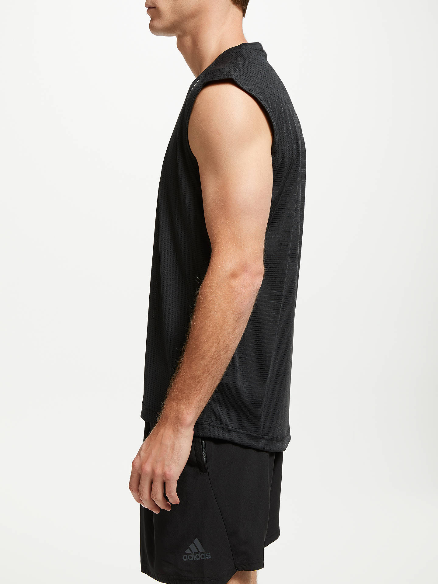 Buy adidas Climacool Training Tank Top, Black, S Online at johnlewis.com
