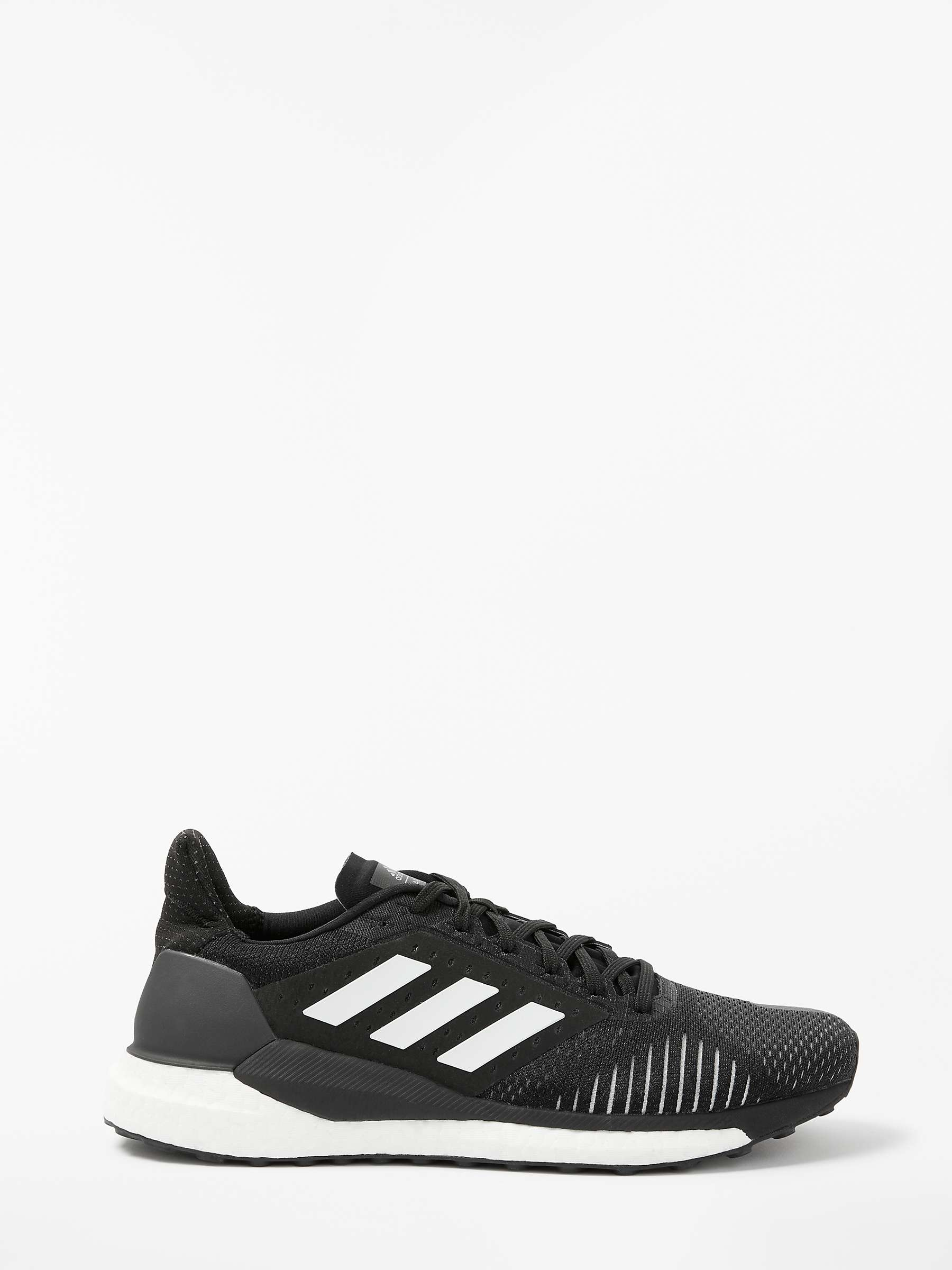 footwear good quality website for discount adidas Solar Glide ST Men's Running Shoes, Core Black