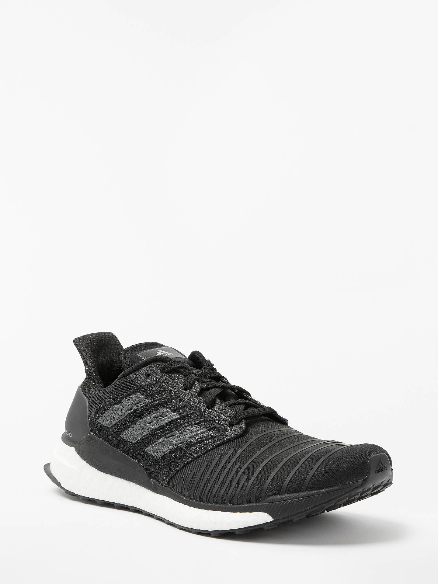 adidas Solar Boost Men's Running Shoes, Core Black at John