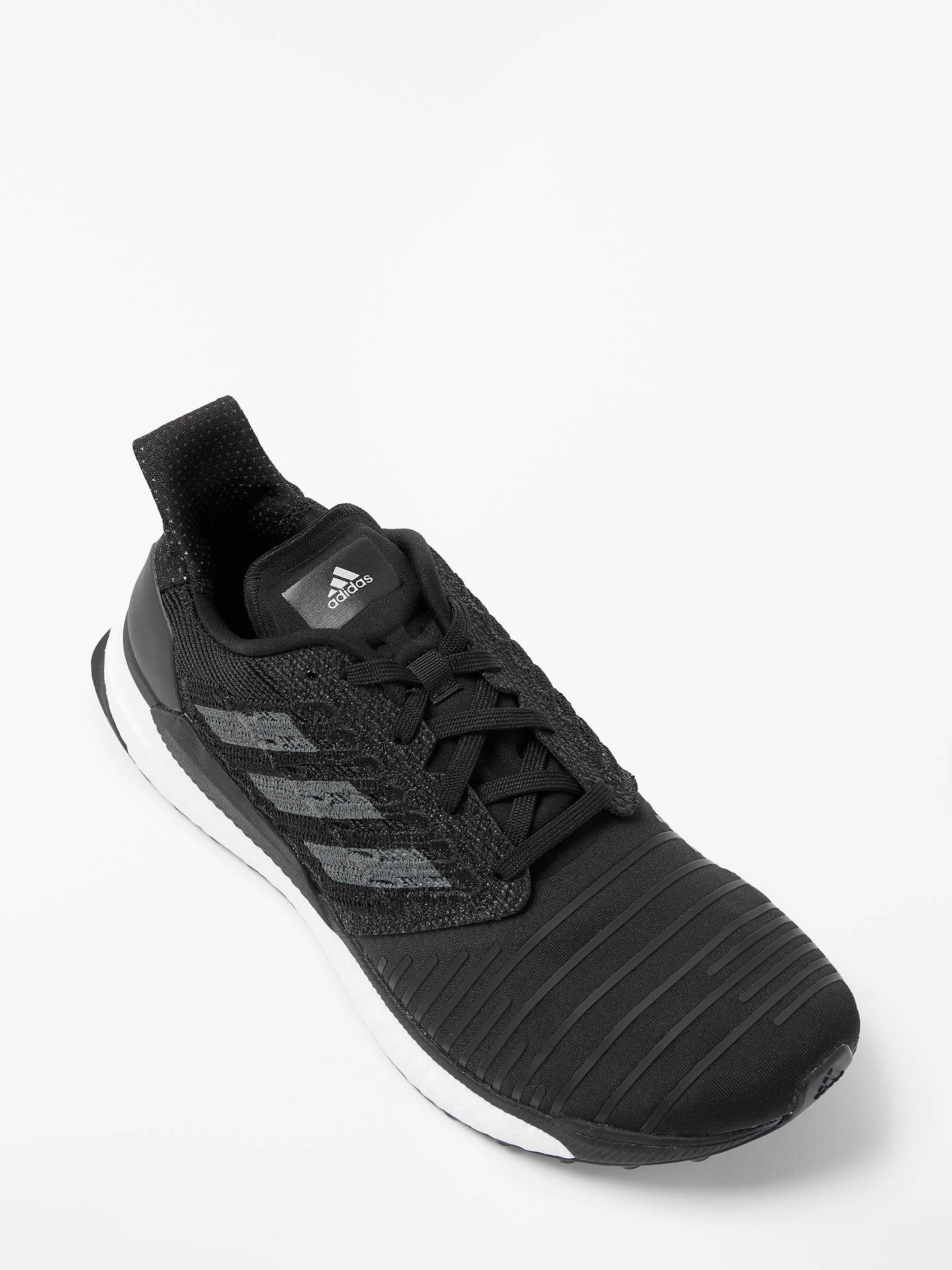 low priced aeb7a 1495a ... Buyadidas Solar Boost Mens Running Shoes, Core Black, 7 Online at  johnlewis.com