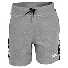 Buy Converse Boys' Star Chevron Shorts, Grey Heather Online at johnlewis.com