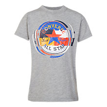 Buy Converse Boys' Retro Colour Block T-Shirt Online at johnlewis.com