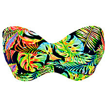 Buy Freya Electro Beach Bandeau Bikini Top, Multi Online at johnlewis.com