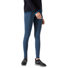 Buy Jigsaw Seam Detail Leggings, Gravel Online at johnlewis.com