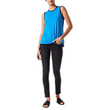 Buy Jigsaw Bound Edge Tank Top, Azure Blue Online at johnlewis.com