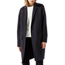 Buy Jigsaw One Button Double Face Coat Online at johnlewis.com