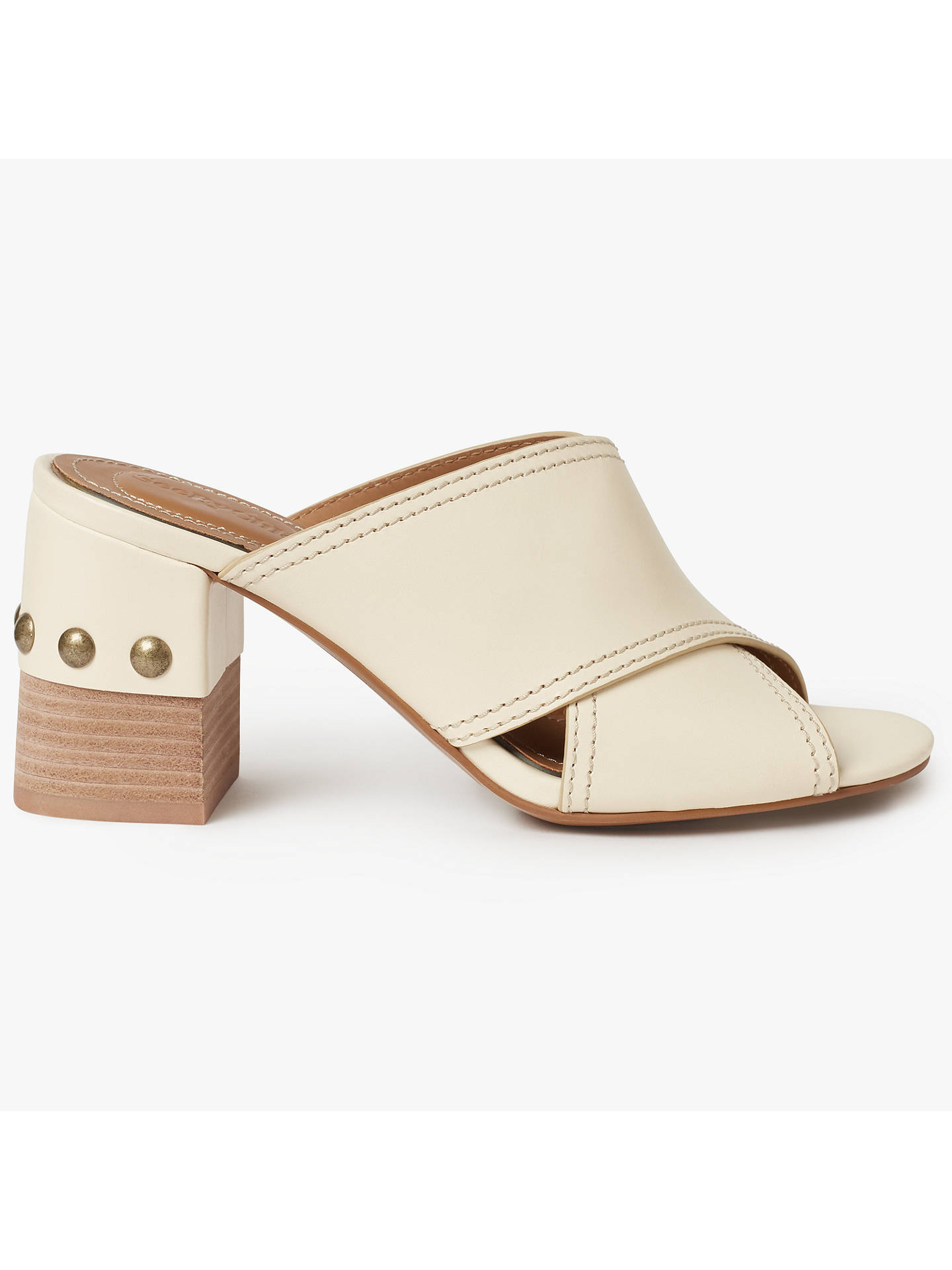 f5e61558f552 Buy See by Chloé Cross Strap Studded Block Heel Mules