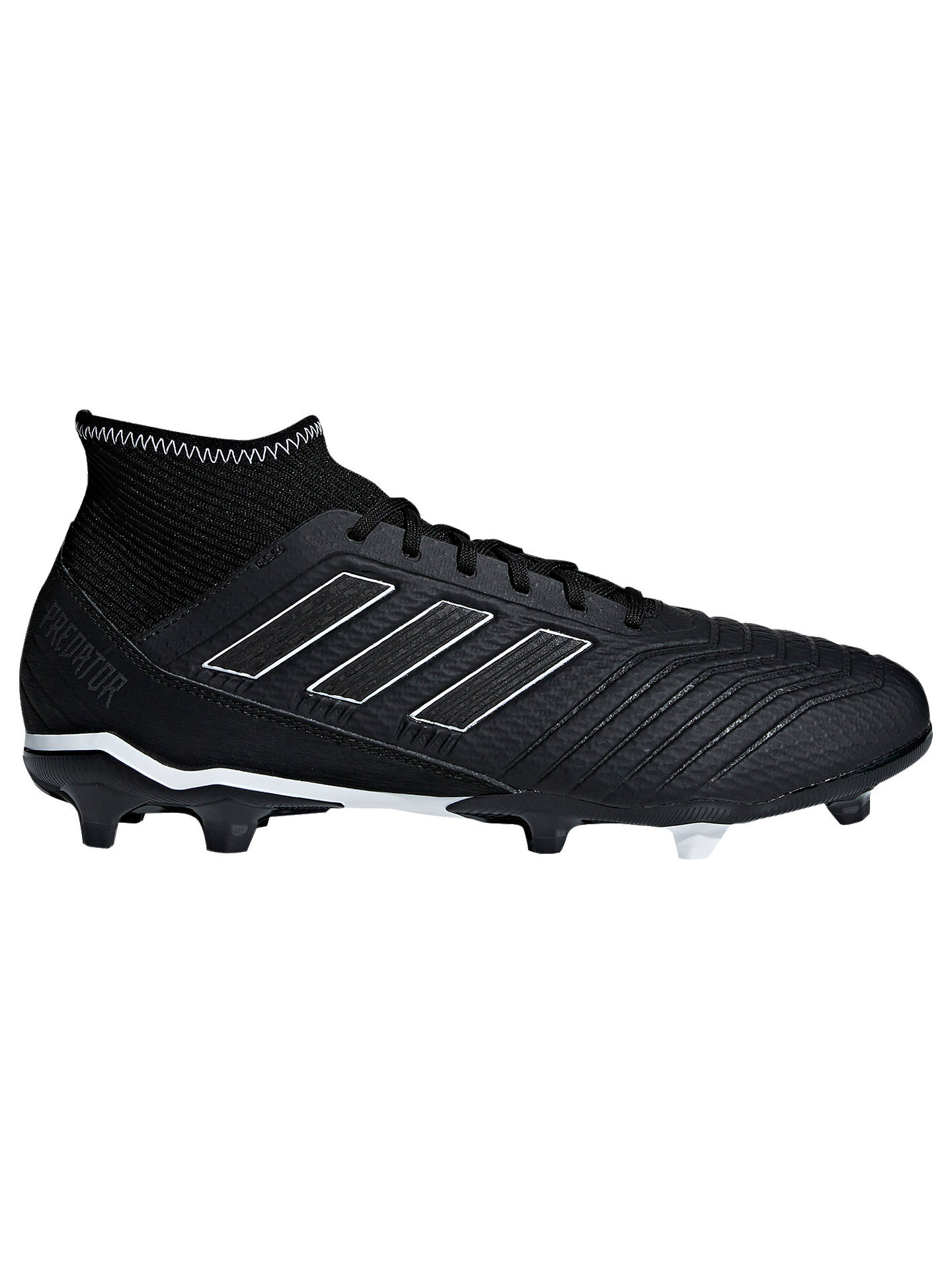 huge discount f26eb 3e3c4 Buyadidas Predator 18.3 Mens Firm Ground Football Boots, Core Black, 7  Online at johnlewis ...