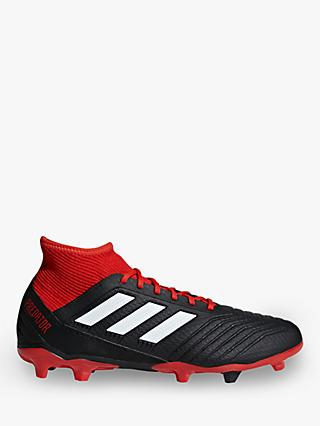 adidas Predator 18.3 Men's Football Boots, Core Black/Red