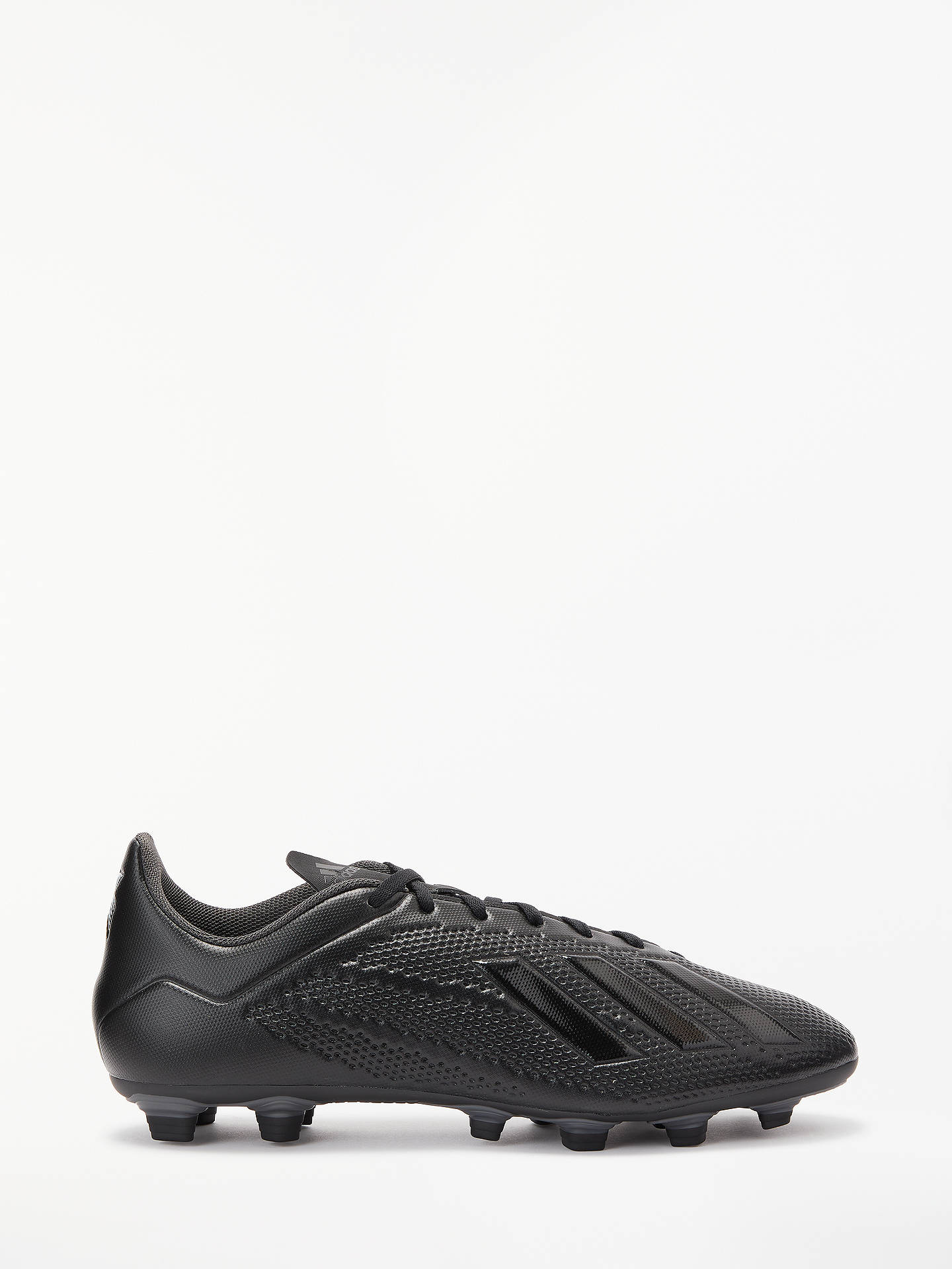 Buy adidas X 18.4 Men's Firm Ground Football Boots, Core Black, 7 Online at johnlewis.com