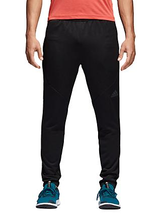 adidas Climalite Workout Training Joggers, Black