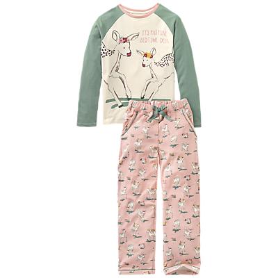 Fat Face Children's Oh Deer Jersey Pyjamas Review