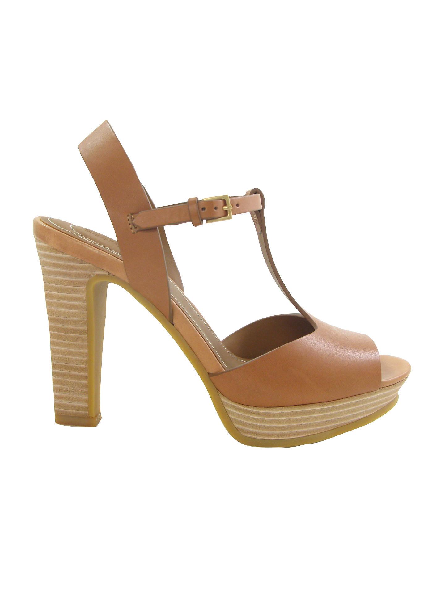 Buy See by Chloé Alex Block Heel T-Bar Sandals