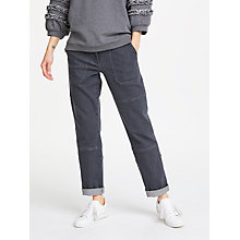Buy AND/OR Cargo Jeans, Washed Black Online at johnlewis.com