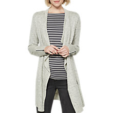Buy Mint Velvet Nepp Yarn Zip Cardigan, Grey Online at johnlewis.com