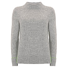 Buy Mint Velvet Side Split Knit Jumper Online at johnlewis.com