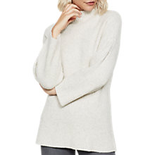 Buy Mint Velvet Wide Sleeve Ribbed Jumper, Oatmeal Online at johnlewis.com