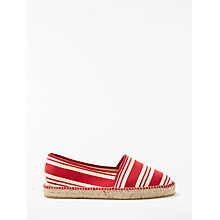 Buy John Lewis Leonie Striped Espadrilles Online at johnlewis.com