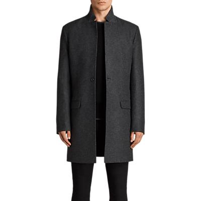 AllSaints Meka Wool Rich Overcoat Review
