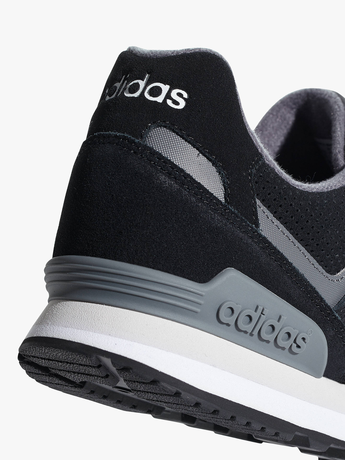 Buy adidas 10k Men's Trainers, Core Black/White, 7 Online at johnlewis.com
