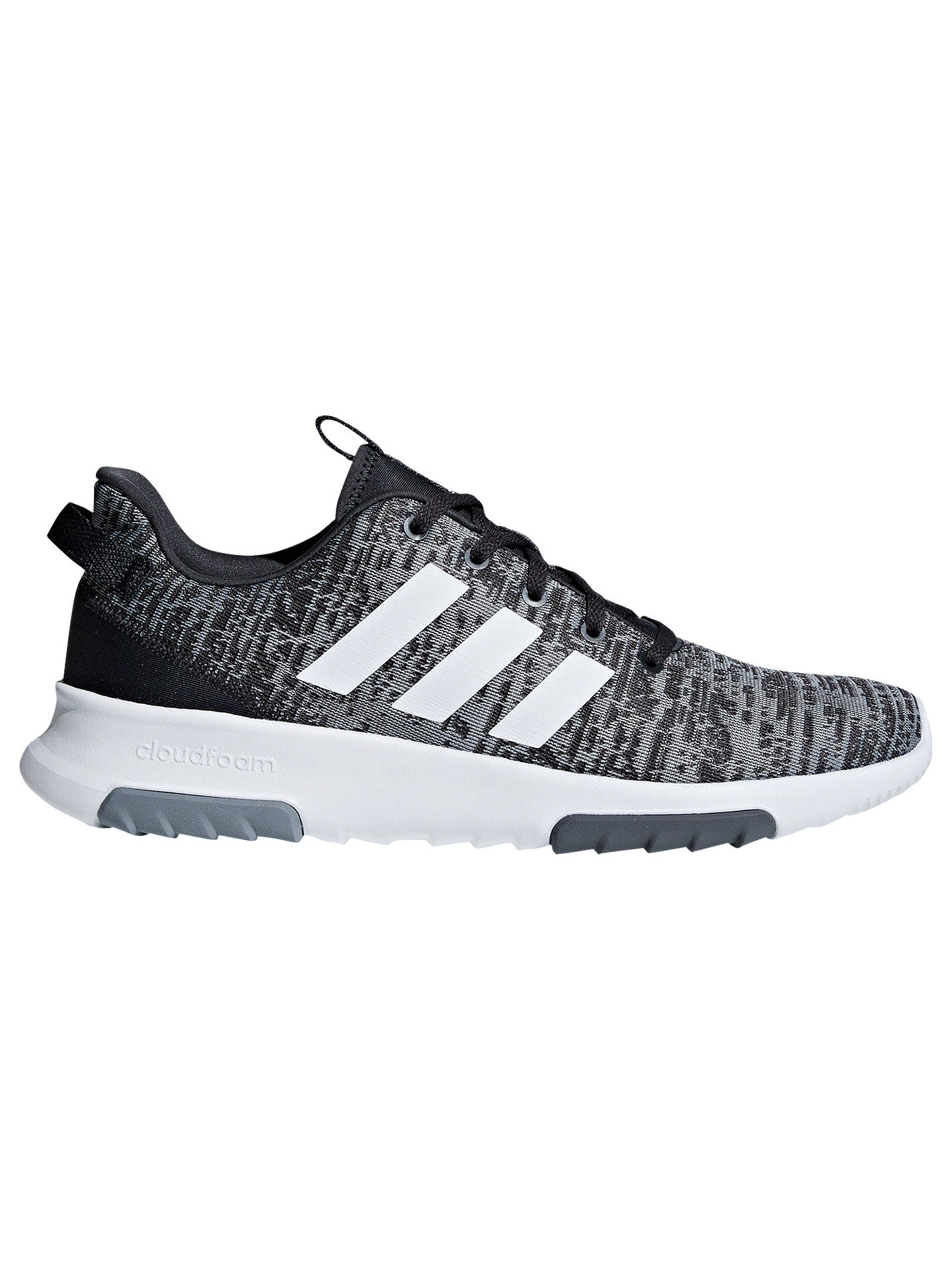 adidas Cloudfoam Racer TR Men's Shoes, GreyWhite at John