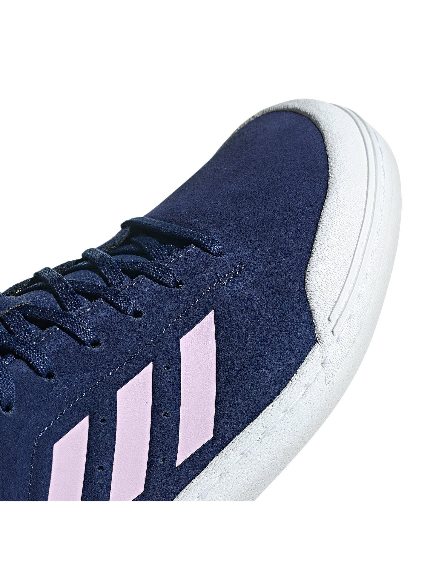 Buy adidas Court 70s Men's Trainers, Dark Blue/Cloud White, 8 Online at johnlewis.com