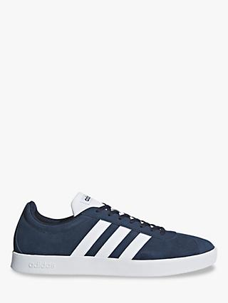 adidas VL 2.0 Court Men's Trainers, Grey/Collegiate Navy/Cloud White
