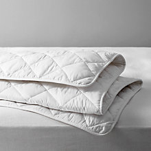 Buy John Lewis Natural Light Cotton Comfort Duvet, 6 Tog Online at johnlewis.com