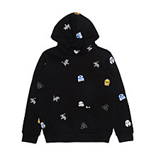Buy Hype Boys' Star Wars Character Print Hoodie, Black Online at johnlewis.com