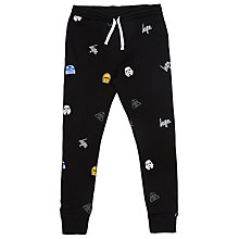 Buy Hype Boys' Star Wars Character Joggers, Navy Online at johnlewis.com