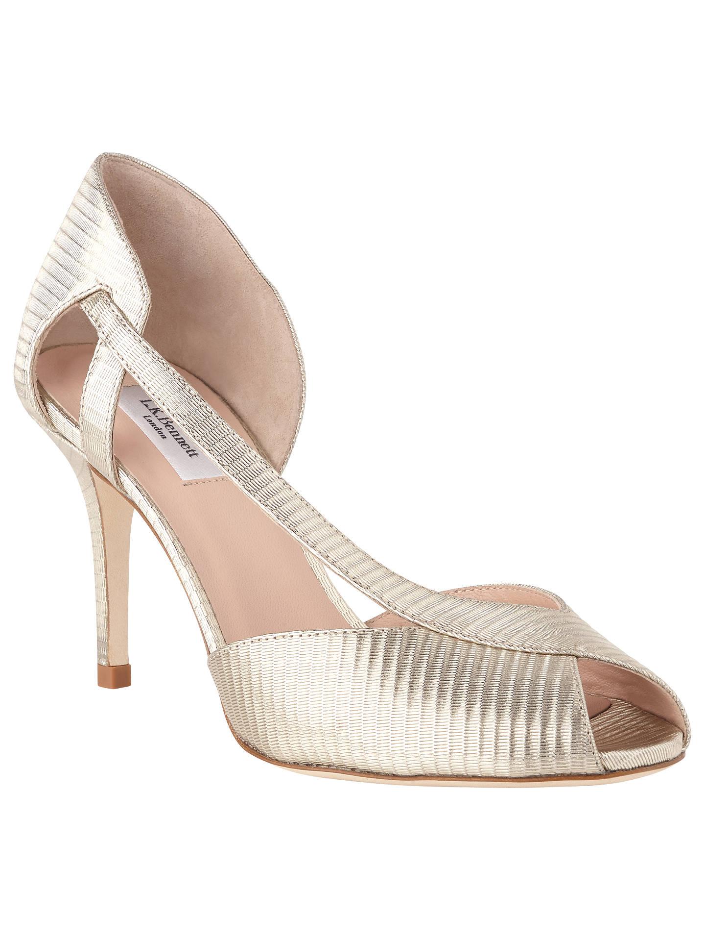 c8b8b7a1c1eebe Buy L.K.Bennett Liya Peep Toe Sandals