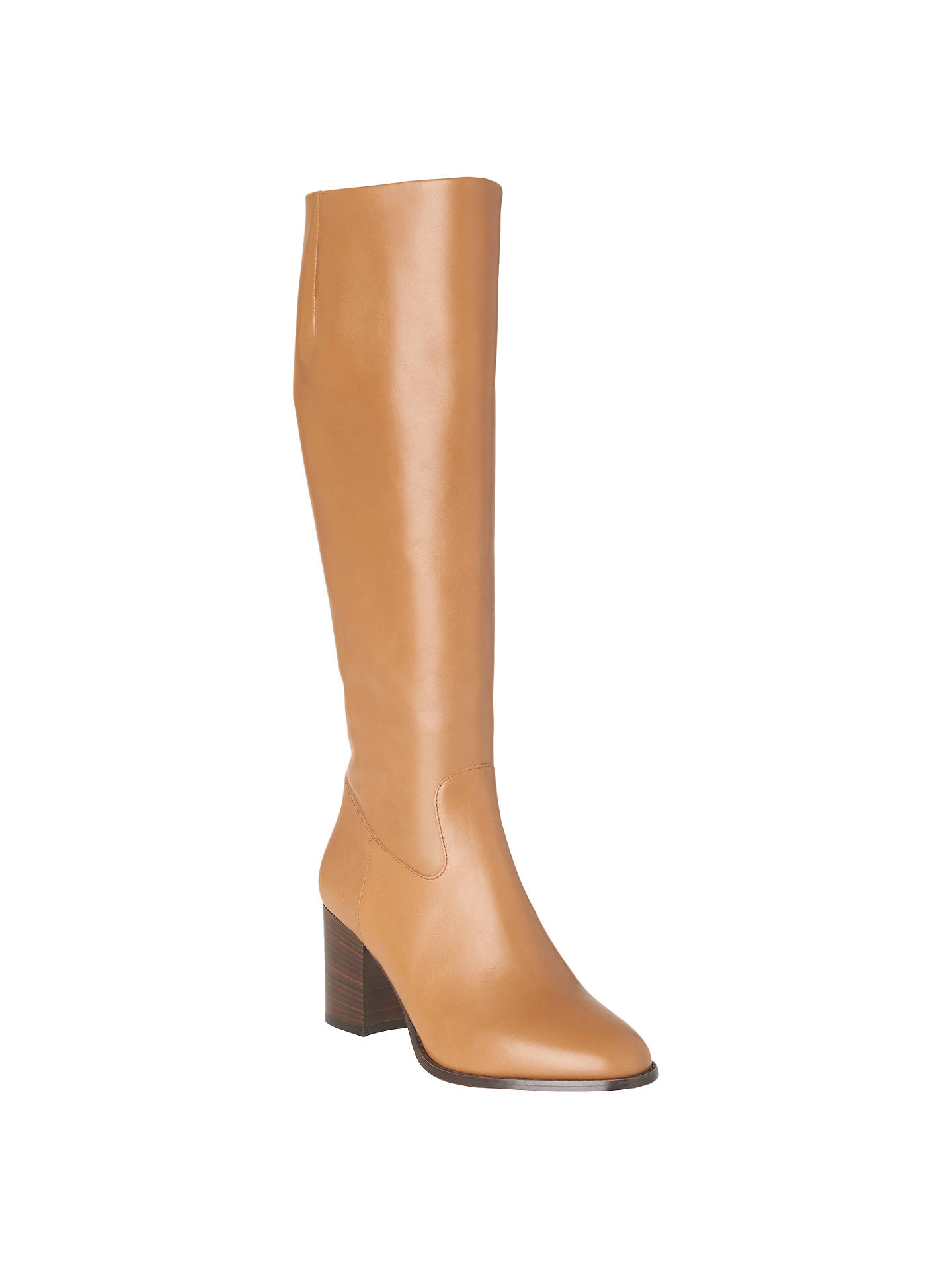 48e490ed7f4 Buy L.K.Bennett Phoenix Knee High Boots, Cognac Leather, 5 Online at  johnlewis.