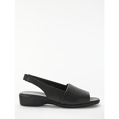 John Lewis Designed for Comfort Conure 2 Sandals, Black