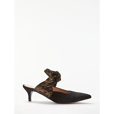 Modern Rarity Chloe Tie Mule Court Shoes