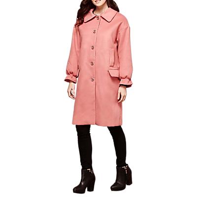 Yumi Frilled Cuff Coat