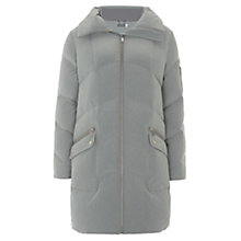 Buy Mint Velvet Duvet Padded Coat, Grey Online at johnlewis.com