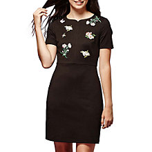 Buy Yumi Floral Dress, Black Online at johnlewis.com
