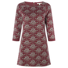 Buy White Stuff Blossom Tree Jersey Tunic Dress, Brown Online at johnlewis.com