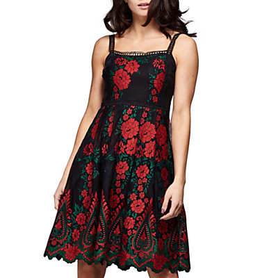 Yumi Floral Embroidered Dress Review