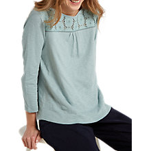 Buy White Stuff Caramel Jersey T-Shirt, Mint Green Online at johnlewis.com