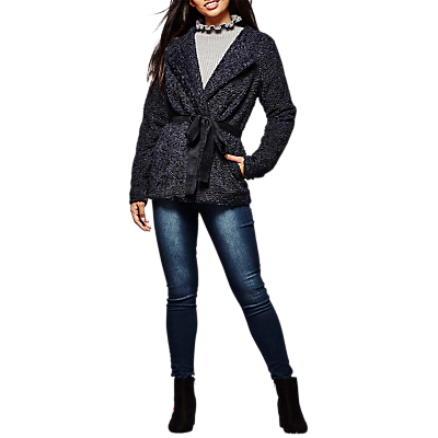 Yumi Boucle Belted Jacket Review