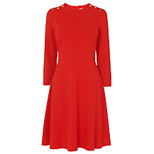 Buy L.K. Bennett Case Tomato Dress, Red Online at johnlewis.com