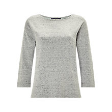 Buy White Stuff Ruby Jersey Sweatshirt, Grey Online at johnlewis.com