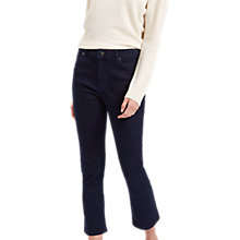 Buy Jaeger Cropped Straight Leg Jeans, Indigo Online at johnlewis.com
