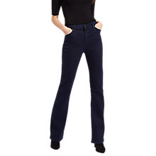 Buy Jaeger Mini Bootcut Jeans, Indigo Online at johnlewis.com